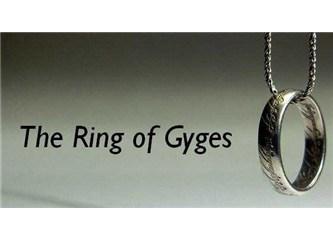 Gyges' in Yüzüğü