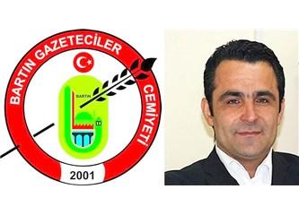 """Cumhuriyetle yaşıt Bartın Gazetesi  """" 90 """" dedi."""