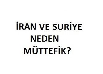İran ve Suriye neden müttefik?