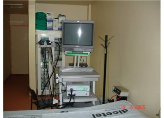 Kolonoskopi, endoskopi, biyopsi; hepsi yarım saat