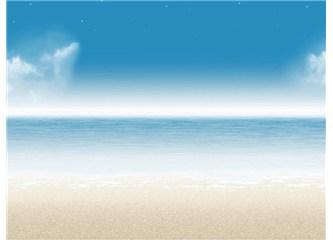 Kumsalda yalnız