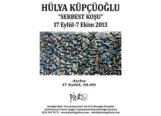 """""""Serbest Koşu"""" üzerine Hülya Küpçüoğlu ile Söyleşi"""