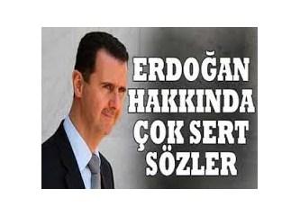 Açılım paketi yorumlanırken, bir açılımda Beşar Esad'tan geldi!
