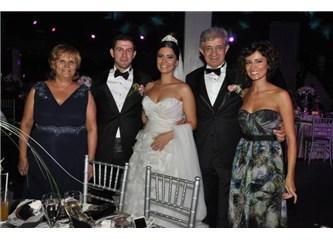 Yazarımız, Turgut- Ayşe Çelik çiftin küçük kızları Yankı evlendi.
