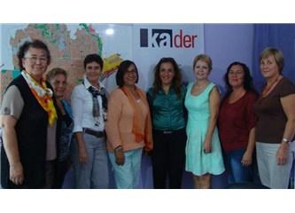 Antalya Kader Temsilciliği Antalya'lı kadınların yanında…