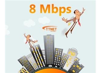 8 Megabit internet... Nihayet