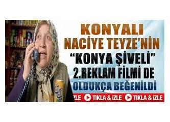 Reklam yıldızı Naciye Hanım!