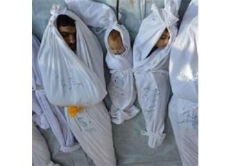 Sorun Suriye'de sadece kimyasal silah kullanmak mı, tankla topla öldürmek mübah mı?