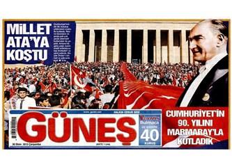 Atatürk'ü daha çok somut eserlerle anmalıyız.