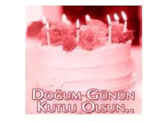 Bugün senin doğum günün
