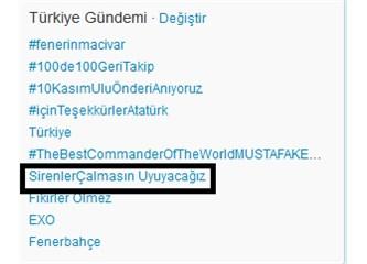 10 Kasım'da ''Sirenler çalmasın uyuyacağız'' Diyen İnsan kafası ! | Size İnat Atatürk !