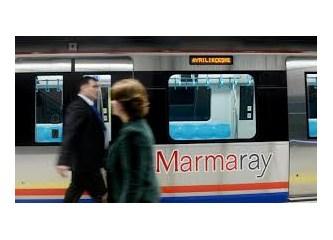 Marmaray'a bindim ve bir Marmaray öyküsü