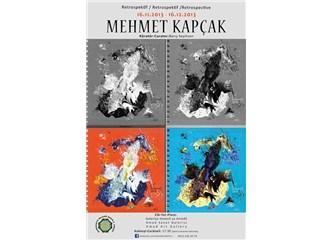 Mehmet Kapçak'ın Retrospektif Resim Sergisi Amed Sanat Galerisi'nde