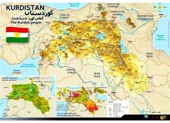 Diyarbakır'dan Kürdistan çıktı! İşte Barazani'nin Kürdistan'ı!