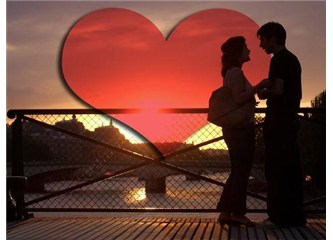 Aşk, şiddetli bir muhabbettir
