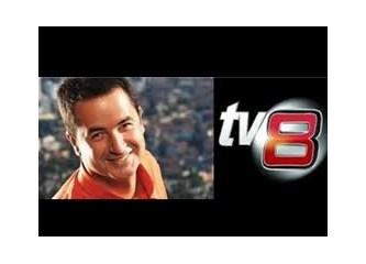 Yeni TV8 'Eğlencesizsiniz' olarak geliyor