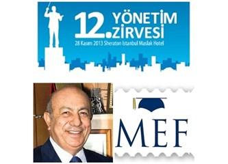 MEF Üniversitesi ve İbrahim Arıkan...