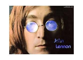 Unutulmayan pop müzik ikonu, John Lennon...