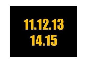 11.12.13 Bu tarihin tekrarı yok... Sanki diğerlerinin var mı ? Ama bu tarihin yok