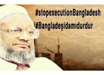 Bengladeş'te Abdulkadir Molla'nın idam edilmesini istemiyoruz!