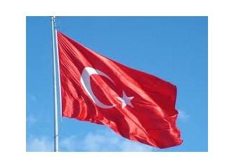 """Bayrağımıza yapılan saygısızlık, """"bayrak sevgisi"""" diyerek  hoş görülmemelidir..."""
