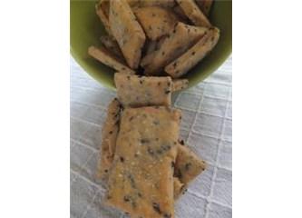 Tavada çavdarlı bisküvi