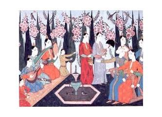 """Osmanlı Sarayı'nda """"Yılbaşı kutlaması"""""""