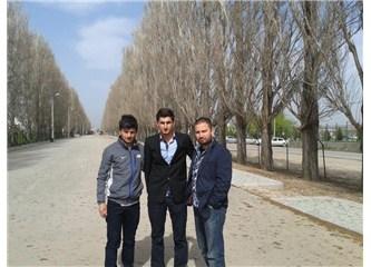 Gazi Üniversitesi  Kamu Yönetimi Öğrencisi Muhammed Kesimal ile..