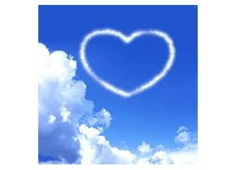 Bir tutam mavi saldım gökyüzüne umut diye...