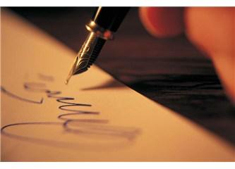 Bu sana yazdığım ilk ve son mektup