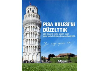 Pisa Kulesi nasıl dikiliverdi...