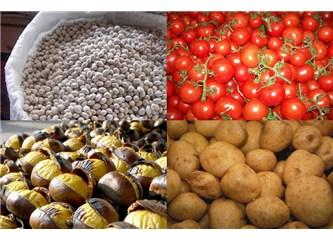Pazarda fiyatlar el yakıyor ! 16 Liraya fasulye , 5 Liraya patates !