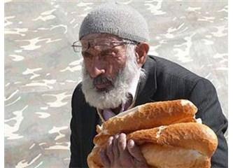 Çalışırken tam, emeklilikte yarım maaş veriliyor; emekliyken Allah bize gökten yiyecek mi yolluyor?