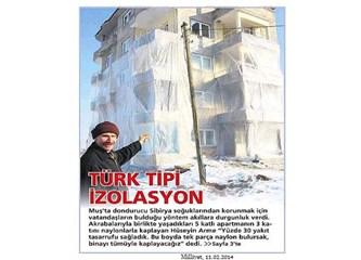 Türk tipi izolasyon...
