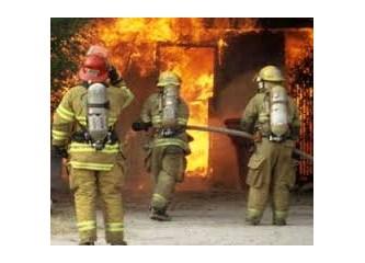 Büyük yangın olayına bilirkişi heyeti raporu 2