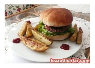 Evde hamburger yapımı