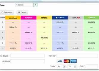 İnternette online kredi kartı ile ödeme sistemi nasıl kurulur