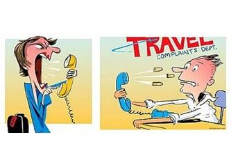 Tur şirketini şikayet ederken...