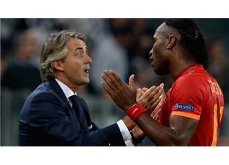 Bu Drogba'yı Chelsea maçlarında oynatmak, intihar etmekti. Mancini,  bile bile intihar etti!