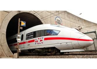 Manş Tüneli'nden Trenle İngiltere-Fransa yolculuğu