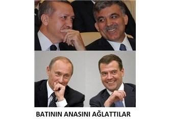 Erdoğan, Gül, Putin, Medvedev dayanışmasının sonuçları?