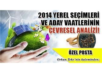 2014 Yerel Seçimleri ve aday vaatlerinin çevresel açıdan analizi ve bazı öneriler