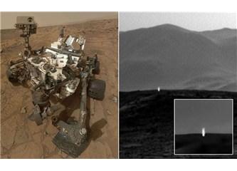 Mars'taki gizemli ışık