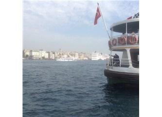 İstanbul Boğazı sevdası böyle bir şey...
