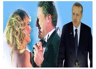 Başbakan Erdoğan'ın korumasındaki Petek Dinçöz ve Can Tanrıyar