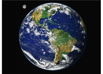 Dünya küre şeklinde değil içi dolu daire şeklinde olsaydı kutuplar olmayacaktı