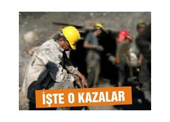 Dünyada meydana gelen büyük maden kazaları ve ölü sayıları...
