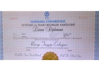 Başbakan Erdoğan üniversiteyi bitirdi mi ki; Cumhurbaşkanı adayı olabilsin?