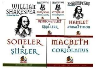 Shakespeare'den korkmayın! Shakespeare yakın arkadaşımız, şiirleri aşk şiirlerimiz