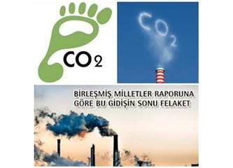 Dünyanın toplam karbon emisyonları zirve yapmış....